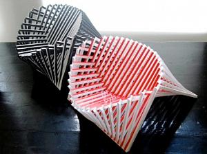 Восходящий стул от датского дизайнера