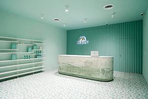 Neo Mint - модный оттенок в интерьере